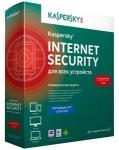 Антивирус Kaspersky Internet Security (на 2 устр)